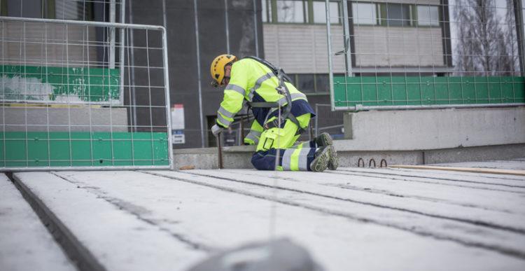3.5.2016 Turvallinen työmaa parantaa selvästi myös työmaakatetta