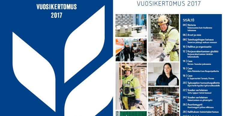 8.2.2018 Varten vuoden 2017 vuosikertomus on julkaistu